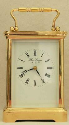 Hour Lavigne 8 Day Striking Grande Corniche Mathew Norman 1750A Carriage Clock
