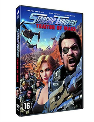 Starship Troopers - Traitor Of Mars - DVD NEW
