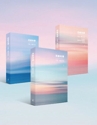 BTS 花樣年華 THE NOTES (K, E, J ver.) + Tracking Number