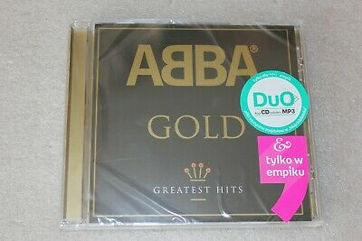 Abba - Gold Greatest Hits  CD - POLISH Stickers New Sealed