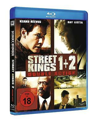 Street Kings - Teil: 1 + 2 [Blu-ray/FSK 18/NEU/OVP] Keanu Reeves, Hugh Laurie
