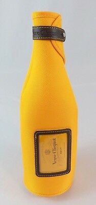Orange veuve clicquot thermal champagne bottle jacket / cover