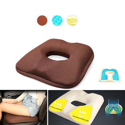 Ice Silk Seasons Car Seat Cushion Sit Cover Pad Protect Lower Back Spinal
