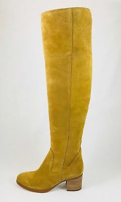 6bba9486d79 Marc Fisher Escape Women Round Toe Suede Tan Over the Knee Boot sz 7.5 m