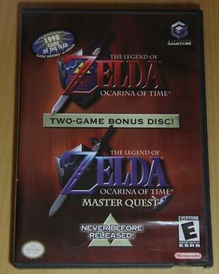 The Legend of Zelda Ocarina of Time Master Quest Gamecube Complete CIB TESTED