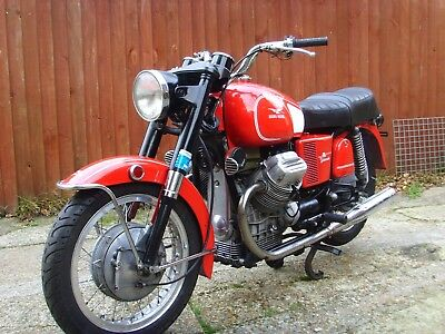 Moto Guzzi V750 Ambassador 1970 Tax & MOT Exempt With UK V5