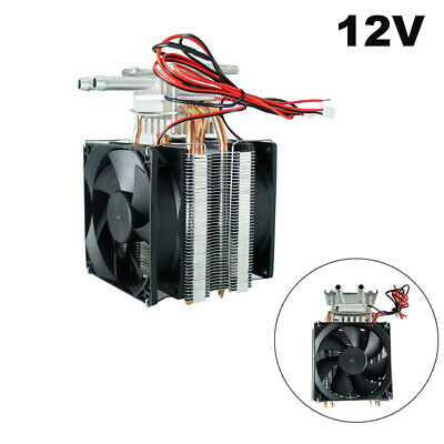 12V 100W Semiconductor Refrigeration Thermoelectric Peltier Air Cooling System