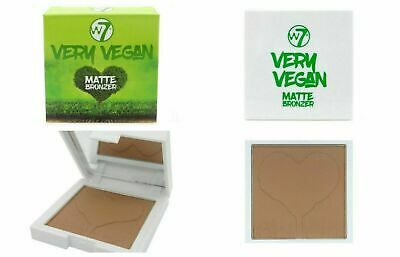 W7 Very Vegan Matte Bronzer Compact With Mirror Boxed Free P&P