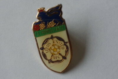 "Leeds United football Badge ""OLD CREST FA PREMIER LEAGUE"""