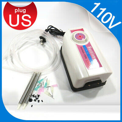 110V Pump Vacuum Suction Pen Placement Machine IC SMD BGA Chip Pick Up Tools