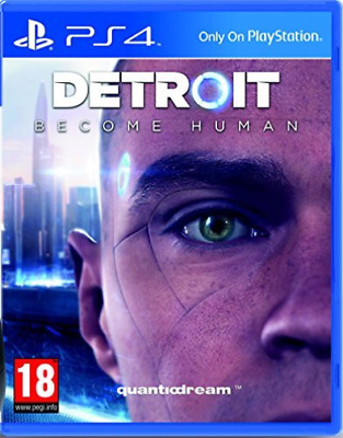 PS4-Detroit: Become Human /PS4 GAME NEW