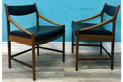 Superior Quality Retro Vintage Mid Century Rosewood Anderson Danish Chairs