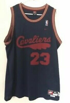 hot sale online 1ac4b c76e2 LEBRON JAMES CLEVELAND Cavaliers NIKE Jersey Size XL Length +2 Throwback '72