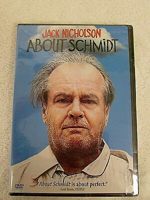 ABOUT SCHMIDT Factory Sealed DRAMA Jack Nicholson DVD 2013 NEW DC2