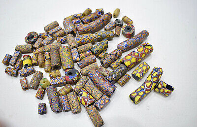 Beads Mixed Bag African Trade Beads 11-50mm