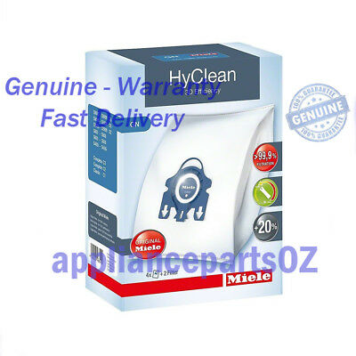 Miele Genuine Vacuum Cleaner Hyclean 3D Dustbags GN 09917730