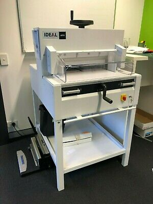 Ideal 4815 Electric Guillotine