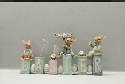 HAPPY EASTER adorable word/sign - brand new