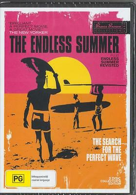 The Endless Summer - Search For The Perfect Wave -Region 4 Dvd - Free Local Post