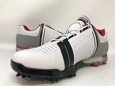 4eadbefce06a42 Under Armour UA Spieth One Golf Shoes White Black Red Men s Sz 12 (1288574-