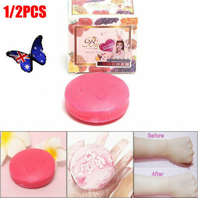Instant Miracle Whitening Soap Moisturizing Skin Care Oil Control Deep Clean UE