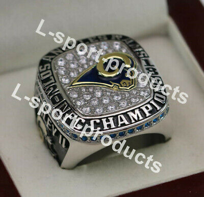 2019 Los Angeles Rams NFC National Football Championship ring 8-14S copper