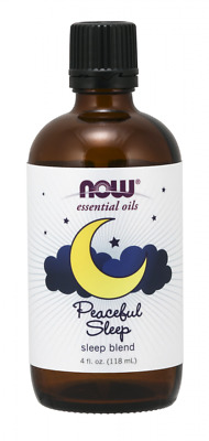 Now Foods  Essential Oils PEACEFUL SLEEP Blend  4 fl oz, 120 ml
