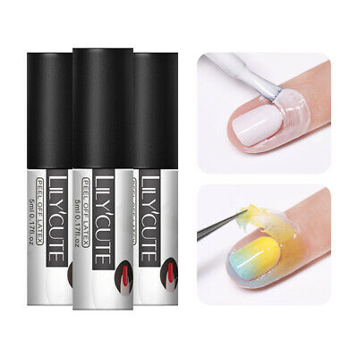 LILYCUTE 5ml Peel Off Liquid Tape Cold-resistant Nail Art Stamping Polish Tools