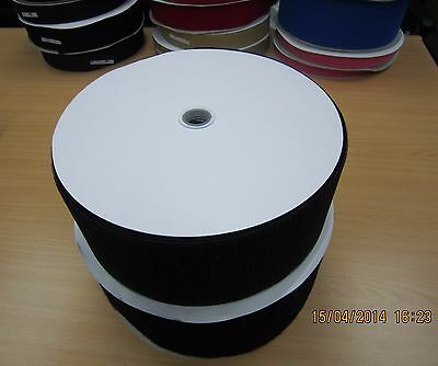 50mm *25M/Roll (1 Roll Hook + 1 Roll Loop ) Sew On Touch Tape Fastener Tape