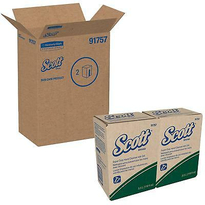 Kimberly Clark Scott 91757 Green Super Duty Cleanser w/ Grit 3.5 Liter (2 PACK)