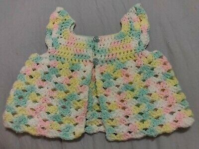 Vintage Crocheted Infant Vest - So pretty!!