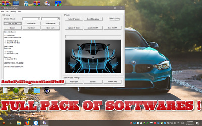 ✔️BMW INPA 5.0.6 One Click Install +NCS Expert Bmw Coding Tool32 WinFKP SOFTWARE
