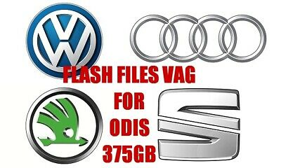 ✔️09.2018 VAG Flash Files BIG Collection 375GB OF ODIS and VAS-PC ✔️ DOWNLOAD ✔️