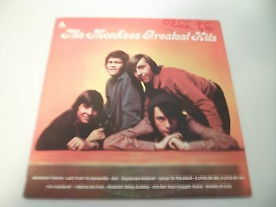 The Monkees Greatest Hits Vinyl Lp Nice Copy  Vg+  Daydream Believer Ab-4089