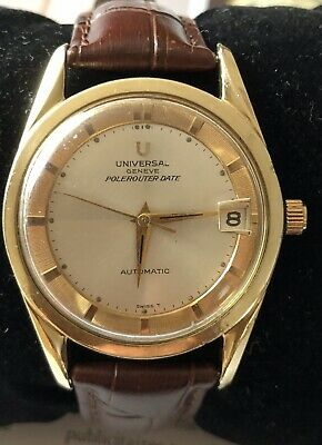 VINTAGE UNIVERSAL POLEROUTER DATE AUTO READY FOR MEN Ship Worldwide Ask First