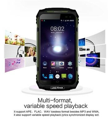 "NEW 3G Rugged Smartphone LAND ROVER X2 Green 5"" Quad Core Waterproof Cell phone"