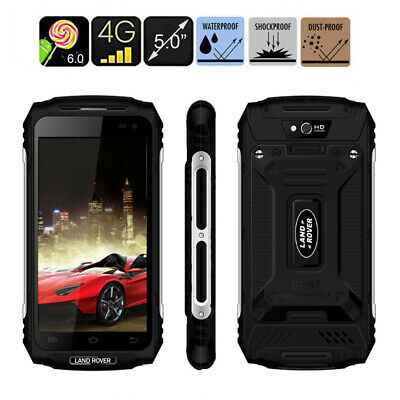 Unlocked Smartphone 3G LAND X2 ROVER Rugged Quad Core Waterproof Black Cell+32GB