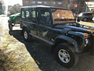 Land Rover DEFENDER 110 SW MK2 winch WARN Bruxelles
