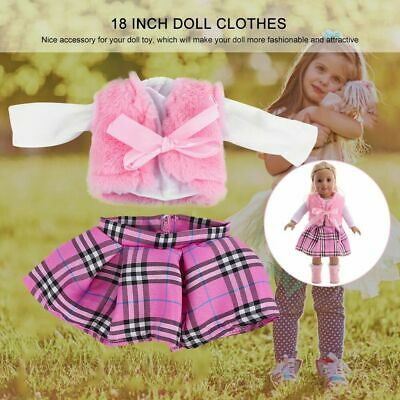 Cute Doll Clothes Dress for 18'' Baby Doll Girl Our Generation Doll Kids Present