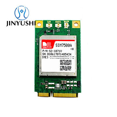 SIMCOM SIM7000E MINI PCIE+USB SIM Adapter NBIoT CAT-M1 EMTC USB UART