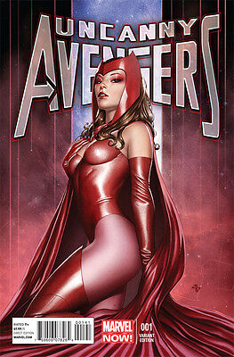 Uncanny Avengers #1 Adi Granov Variant Scarlet Witch...NM Make us a offer...