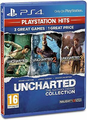Uncharted: The Nathan Drake Collection - PlayStation Hits | PS4 New (1)