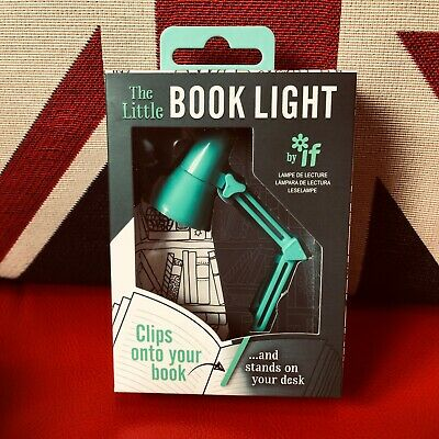 The Little Book Light - Mint. LED Reading Light. Clips onto your book ..*New*