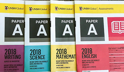 ICAS 2018 Year 3 (A) Past Papers lot - All subjects