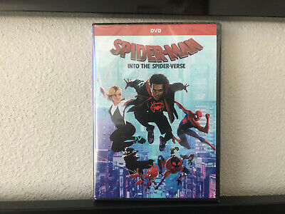 Spider-Man: Into the Spider-Verse (DVD 2018 2019) NEW SHIPPS FROM USA FREE SHIP