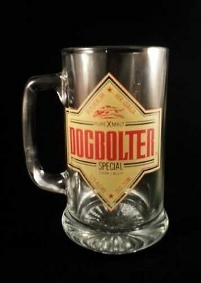 Set Of (3) Dogbolter Beer Glass Mugs Steins