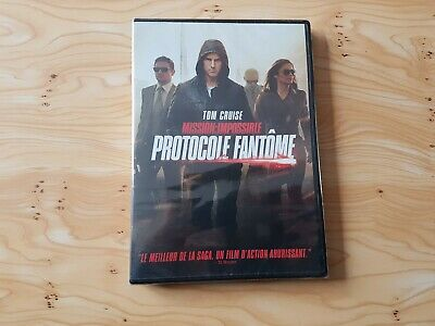 Dvd Mission Impossible Protocole Fantôme Tom Cruise Neuf Sous Blister