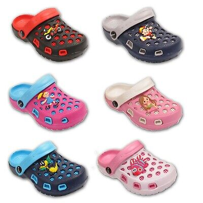 Infant Kids Garden Beach Girls Boys Clogs Mules Pool Sandals Flip Flop Shoes