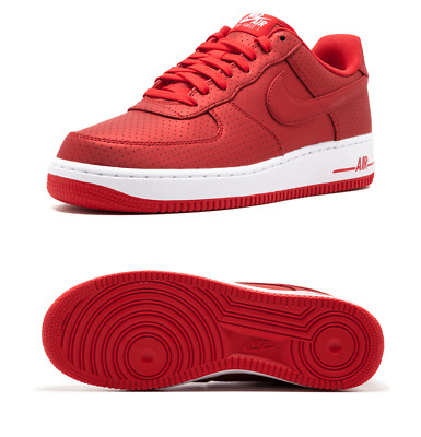 Bas Hommes Force Nike Action Sz 07 Lv8 Baskets Af1 607 Air 1 718152 Rouge Blanc SUzGLqpMV