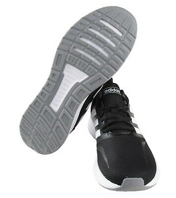 new concept 6f049 86dd5 Adidas Men Run-Falcon M Shoes Running Black Sneakers Boot Casual GYM Shoe  F36218